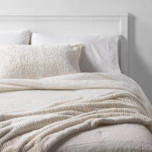 New Faux-fur Throw Blanket